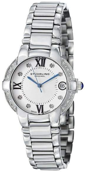Stuhrling Original Countess Elite 338L.12112 Stainless Steel & Diamond 33mm Watch