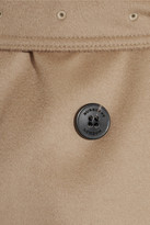 Burberry Mid-length wool and cashmere-blend trench coat