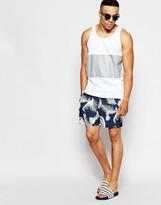 Original Penguin Swim Shorts - Blue