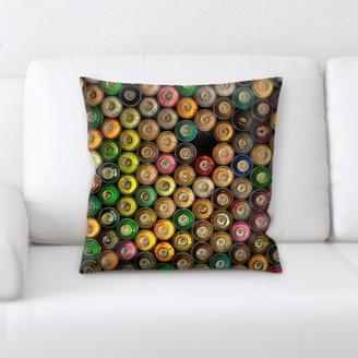 Amaya Ebern Designs Sharp Colors Throw Pillow Ebern Designs