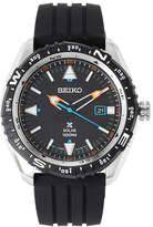 Seiko SNE423 Silver-Tone & Black Watch