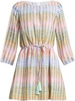 ATHENA PROCOPIOU Cosmic Dancer multi-thread cotton-blend dress