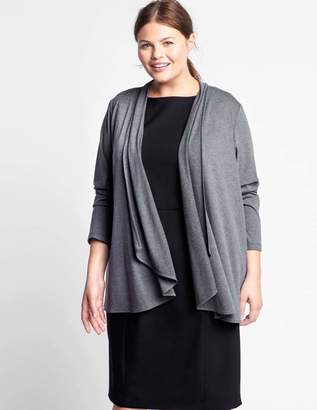 Of Mercer Amsterdam Cardigan Sweater in Granite Gray Size 1X