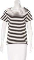 A.P.C. Striped Short Sleeve Top
