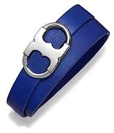 Tory Burch Gemini Link Double-Wrap Bracelet
