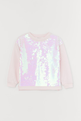 H&M Top with reversible sequins