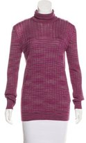 M Missoni Long Sleeve Turtleneck Sweater