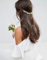 Asos WEDDING Crystal Back Hair Crown