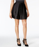 Amy Byer Juniors' Pleated A-Line Skirt