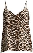 Equipment Layla Leopard-Print Camisole Top