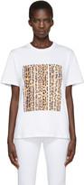 Alexander Wang - T-shirt  à logo blan