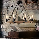 PinWei linght PinWei_ Industrial style chandelier&Dining room chandelier & Bar Chandelier Iron rope pendant