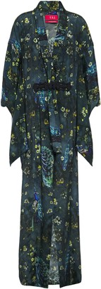 F.R.S For Restless Sleepers Edone Printed Crepe De Chine Kimono