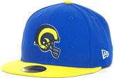 New Era Los Angeles Rams Historic Basic 59FIFTY Hat