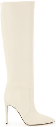 Paris Texas Knee-Length Pointed Toe Boots