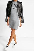 McQ by Alexander McQueen Printed Cotton T-Shirt Dress