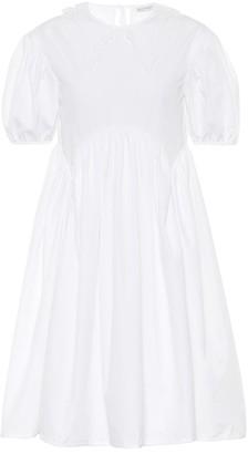 Cecilie Bahnsen Malou cotton poplin minidress