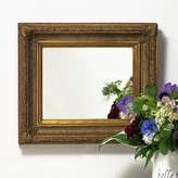 Hand Crafted Mirrors Fluted Antique Gold Mirror