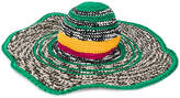 Missoni woven beach hat
