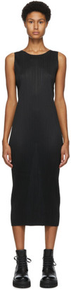 Pleats Please Issey Miyake Black Basics Tank Dress