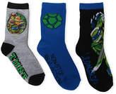 LICENSED PROPERTIES TMNT Crew Socks 3-pc