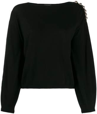 Liu Jo boat neck jumper
