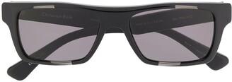 Christian Roth Rectangular Frame Sunglasses