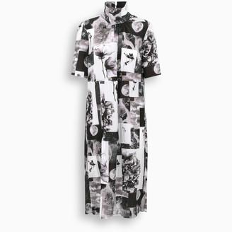 Baum und Pferdgarten Black/white Angie long dress