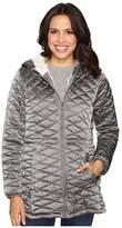 Steve Madden Quilted Glacier Shield Coat
