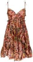 Zimmermann Lovelorn Ruffle Trim Mini Dress