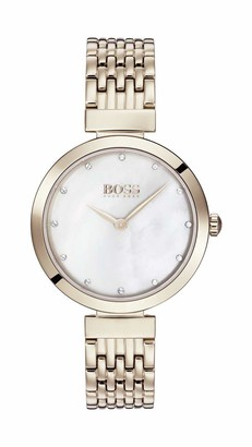 HUGO BOSS Womens Analogue Classic Quartz Watch with Stainless Steel Strap 1502480