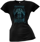Doctor Who Vitruvian Angel Juniors T-Shirt