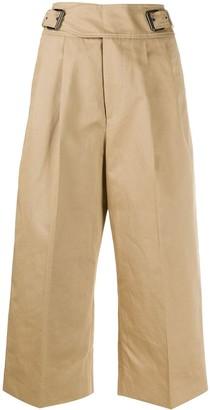 Marni High-Waist Cropped Trousers