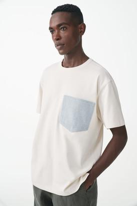 Cos Organic Cotton With Denim Pocket