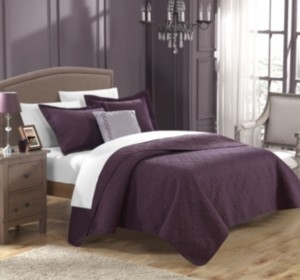 Chic Home Barcelo 3 Piece Twin Quilt Set Bedding