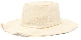 Reinhard Plank Hats - Tom Flat-top Straw Hat - Beige