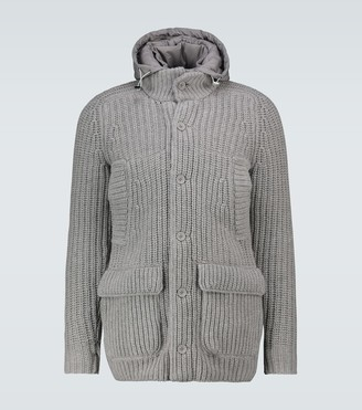 Herno Knitted padded jacket