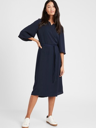 Banana Republic Bell-Sleeve Dress