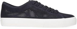 Vince Farrell-5 Perforated Suede Sneakers