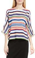 Vince Camuto Women's 'Escape Stripe' Dolman Sleeve Blouse