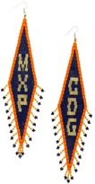 Forest of Chintz Airport code earrings MXP CDG