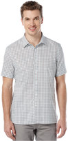 Perry Ellis Slim-Fit Geo Square Print Shirt