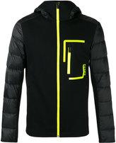 Fendi padded-sleeve jacket - men - Cotton/Polyamide/Polyester - 46