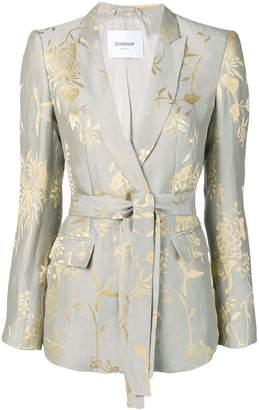 Dondup printed belted blazer