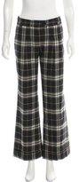 Burberry Nova Check Wool Pants