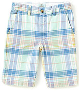 Class Club Big Boys 8-20 Plaid Shorts