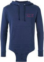 Martine Rose - logo print hoodie - unisex - Cotton - S