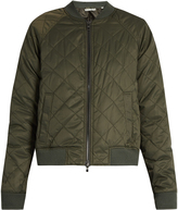Vince Quilted zip-through bomber jacket