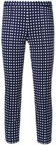 MICHAEL Michael Kors square print cropped trousers