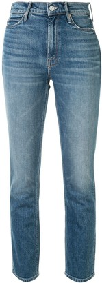 Mother Dazzler Ankle high-waist jeans